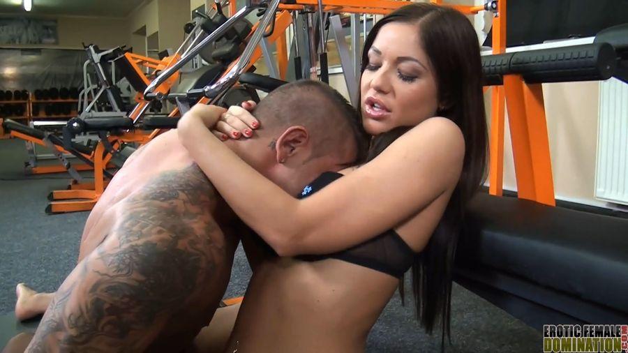 Female tit pinching domination