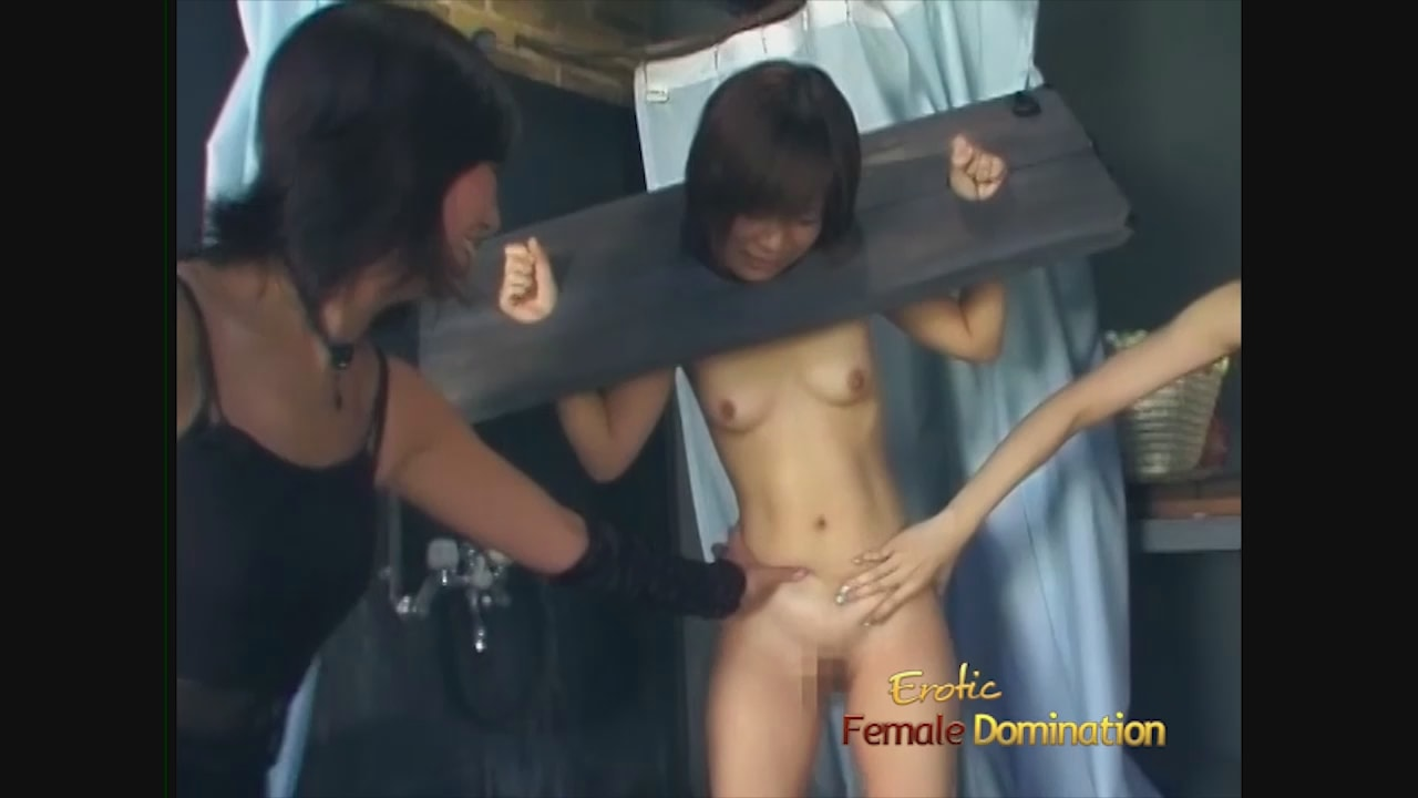 Hot prisoner girl gets gang banged in a dungeon