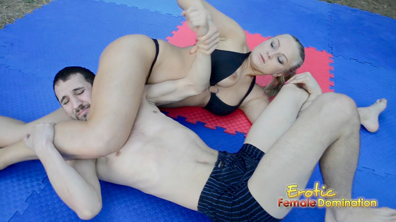 domination female mixed wrestling