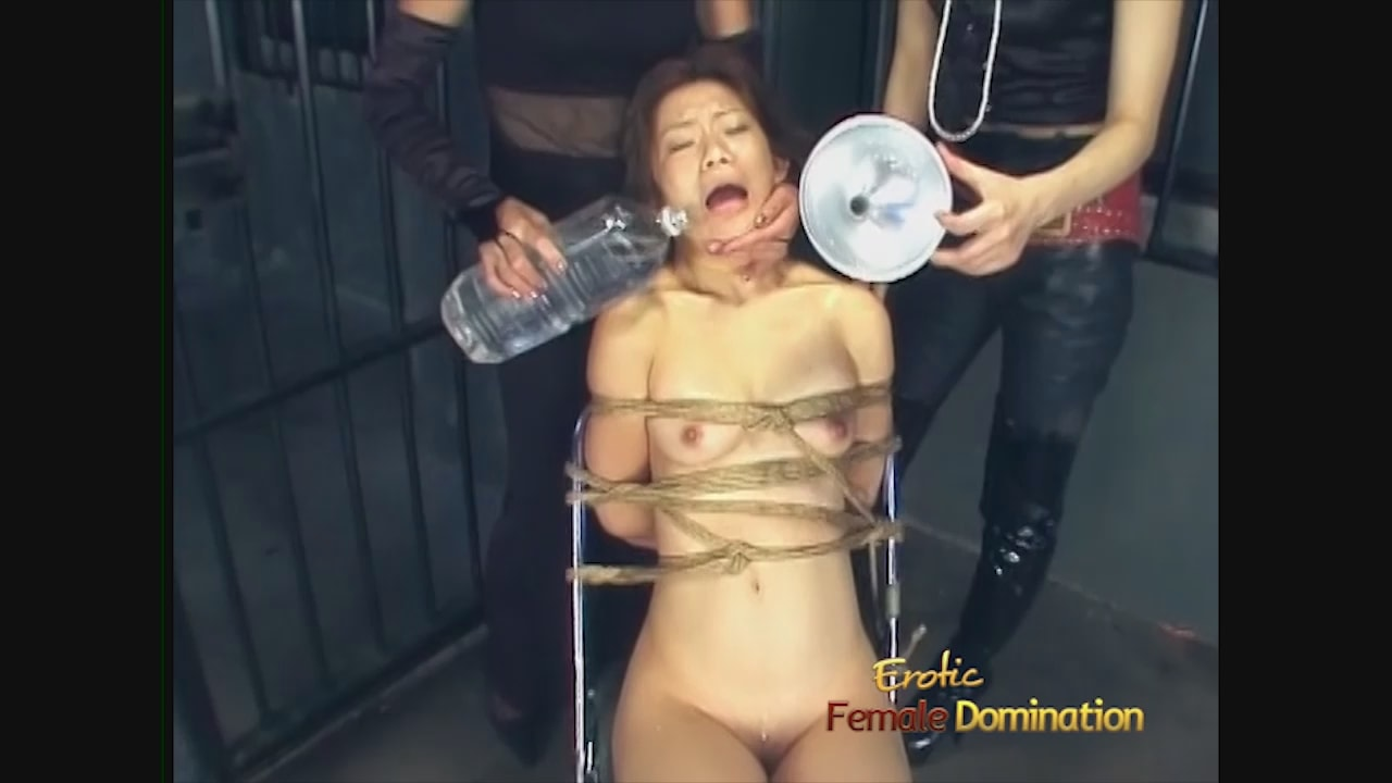 Mistress is fucked by shemale maid