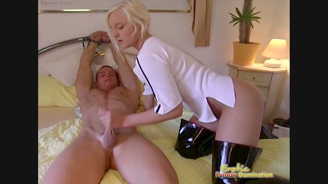 Talented message Female domination teasing and denial theme