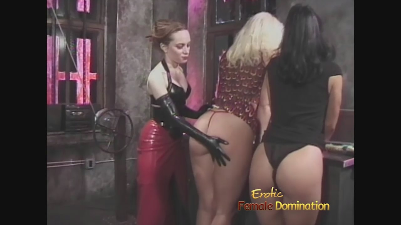 Girl dominatrix