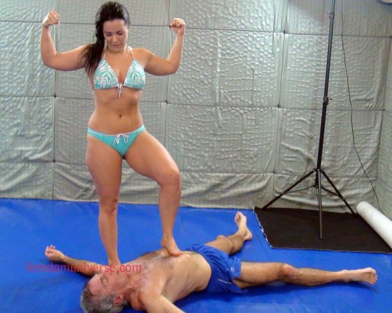 Mixed Wrestling Two Girls