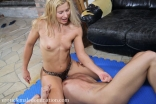 diana pulls cock - erotic female domination