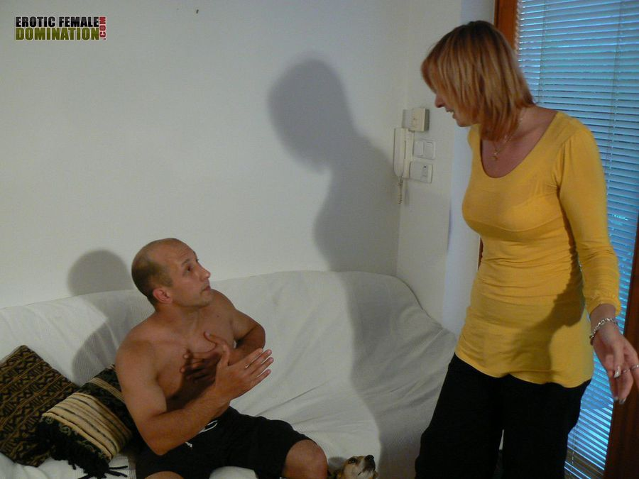 Consider, that domestic discipline female domination can