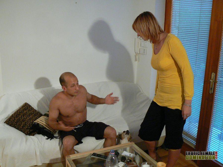 Domestic discipline female domination seems