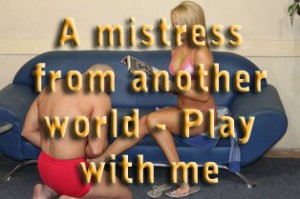 Play with me, worthless slave – A mistress from another world – part 15