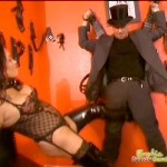 Dommes  Go Crazy Punishing Male Slave's Cock
