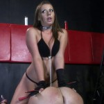 Slave Gives Mistress Ride Then Receives Pegging