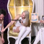 Slave Is Compared To A Real Man By Dominatrixes