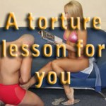 A torture lesson for you – I am the Mistress from Another World – pt23