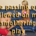 No passing out allowed on my smothering play – I am the Mistress from Another World – part 30