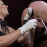 Powerful Dominatrix Has Male Slave Tortured