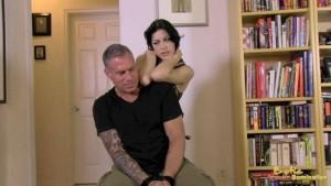 Jane Interrogates And Strangles Captured Slave