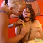 Female Slave Gets A Hot BDSM Session From Her Mistress