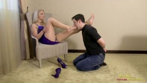 Worship Lana's Feet Dressed In High Heels