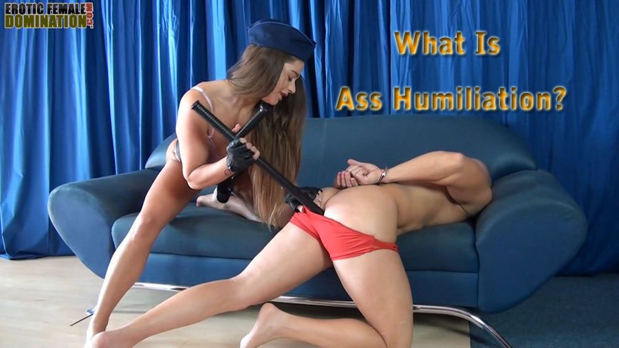 Female domination verbal humiliation