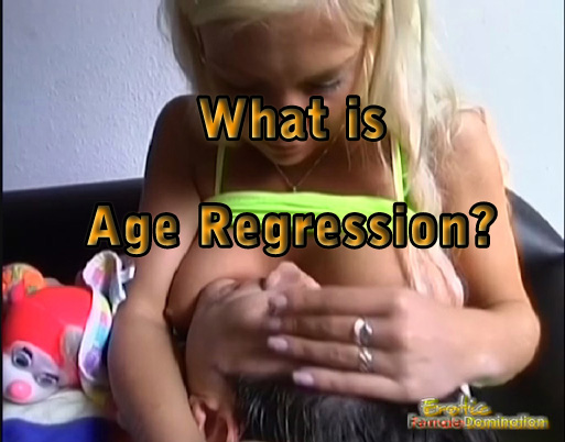 Female domination age regression story