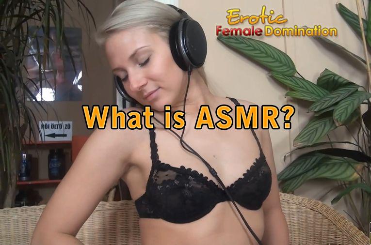 is asmr a fetish
