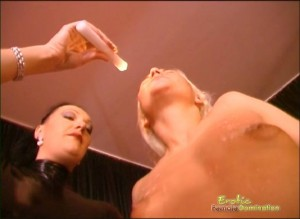 Mistress Teaches Slave Couple How To Obey