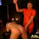 Woman Slave Gets Her Training From Relentless Mistress