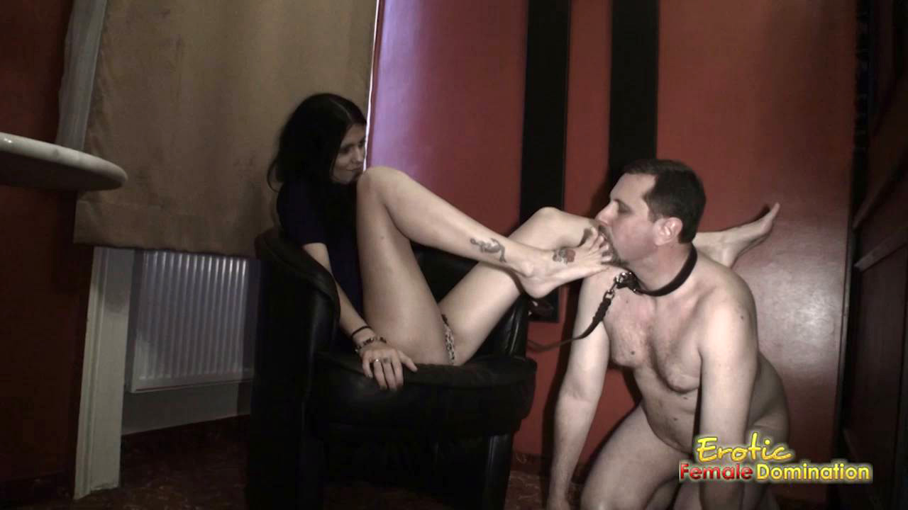 Worship my feet slave lesbian foot worship 7