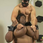 Chubby Black Slut Has Jacked White Dude Punish Her