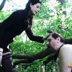 Frank Getting Slapped Outdoors By Goddess Gloria