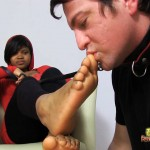 Perfect Ebony Feet Are For Worshipping