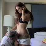 Submissive Slave Must Smell Autumn Bodell's Skin
