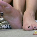 Perfect Feet Get Covered In Slippery Lotion