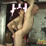 Lovely Mistress Turns Her Slave In A Rug