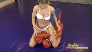 Spiderman Gets His Ass Kicked By Sophie