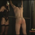 Femdom Sex Slave Punished Before Fucking