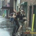 Lezdom Mistresses Kidnapping Female Slave On The Street