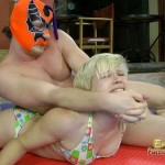 Mistress Bianca Fighting Against Pro Mexican Wrestler