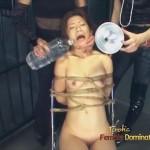 Brutal Lezdom BDSM Simulated Drowning