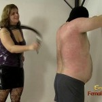 Chubby Mistress Pushing Her Slave To The Limit