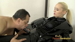 Czech Mistress Sarah Dominating A Loser