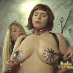 Bossy Mistress Can't Get Enough Of Her Slave's Tits