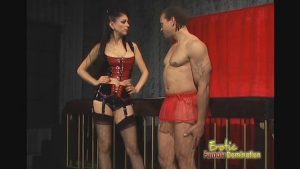 Mistress Natasha Gives Her Slave Lots Of Pain