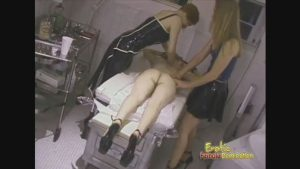 Mistresses Give Their Slave A Massage