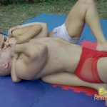 Foreplay Wrestling Match With A Lot Of Loving Touches