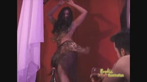 Exotic dancer teases and seduces her fans in a flapper-themed video