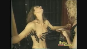 Innocent girl satisfied in the sex dungeon