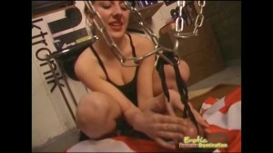 Mistress Enjoys Busting Slave's Balls During This Session