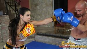 Miki And Mira Glove Up To Box