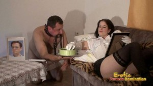 Pathetic Slave Is Also A Servant