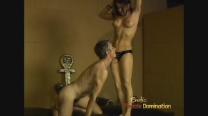 CBT Mistress Vanessa Lane Dominating Slave