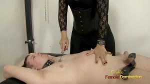 Curvy Dominatrix Owns A Slave With Her Ass